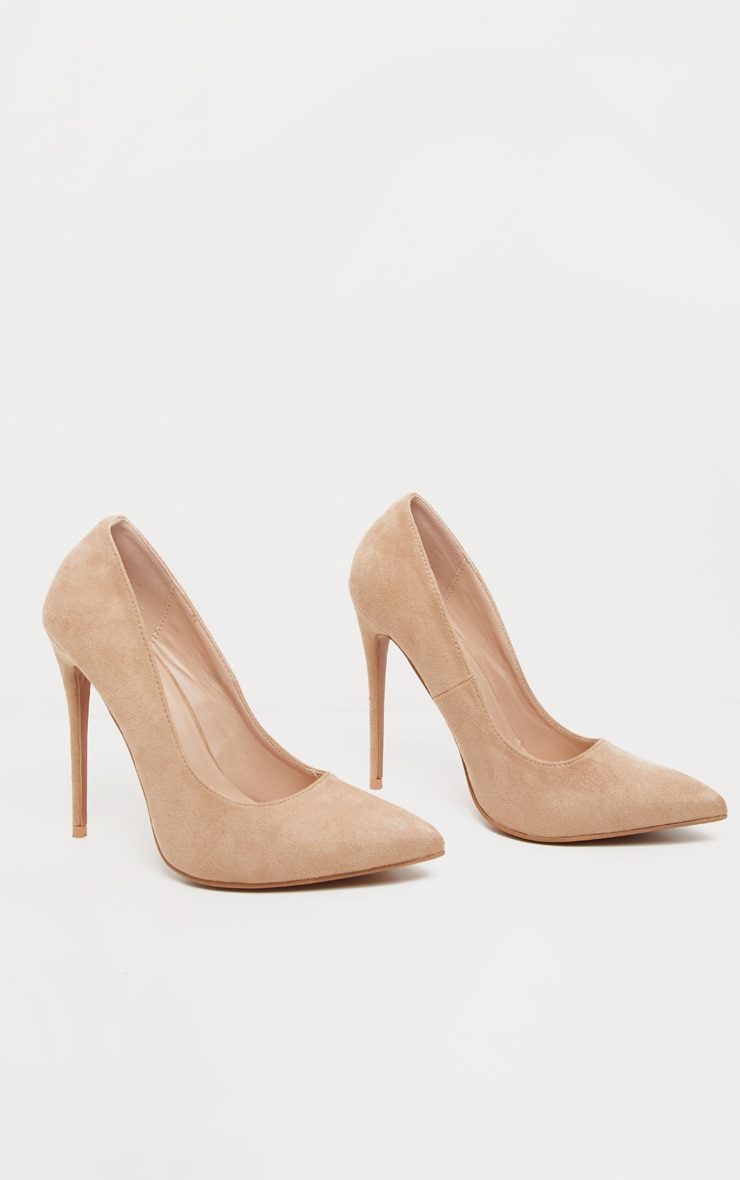 Nude Wide Fit Court 3