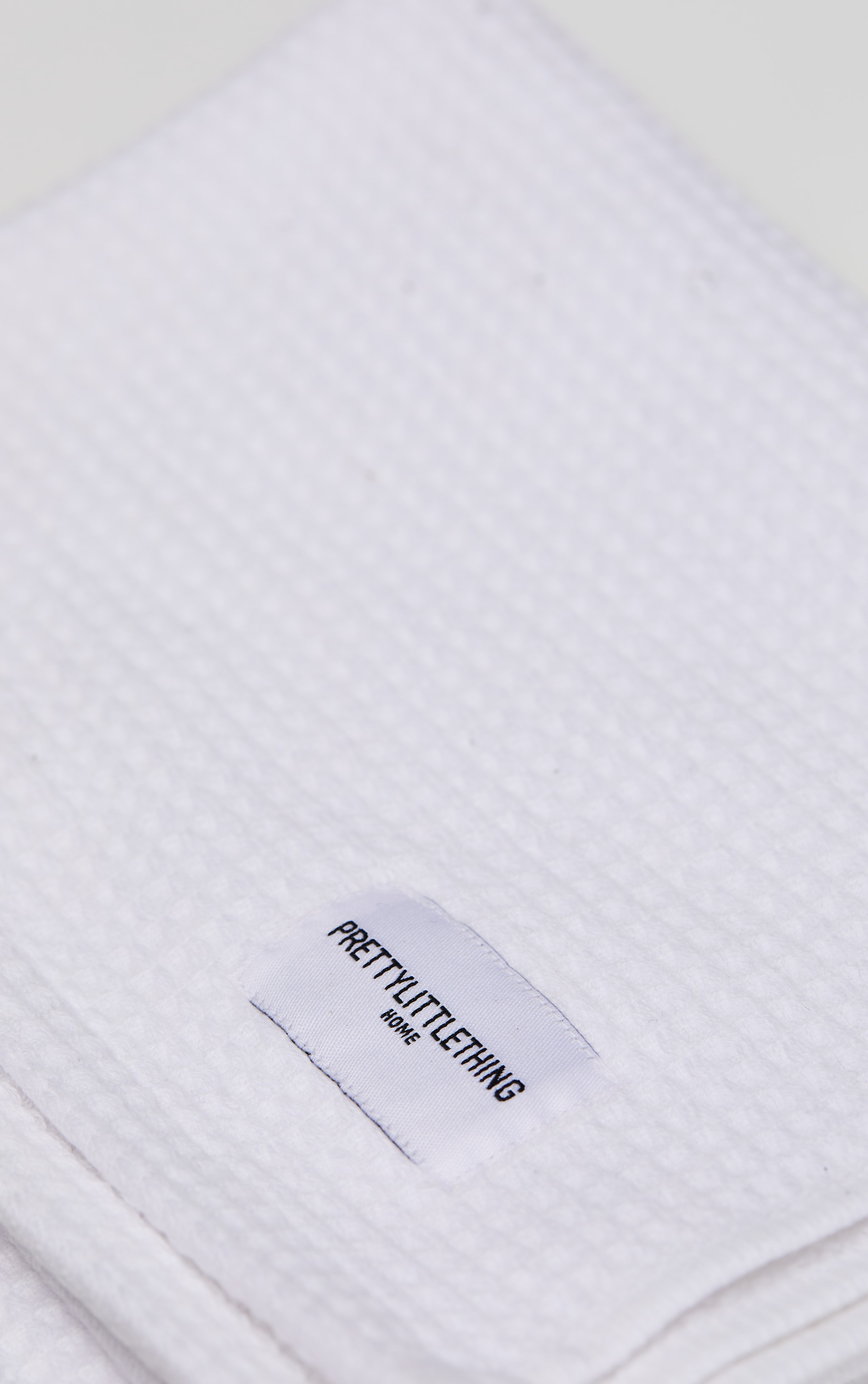 White Waffle Cotton Hand Towel Pack Of 2 4