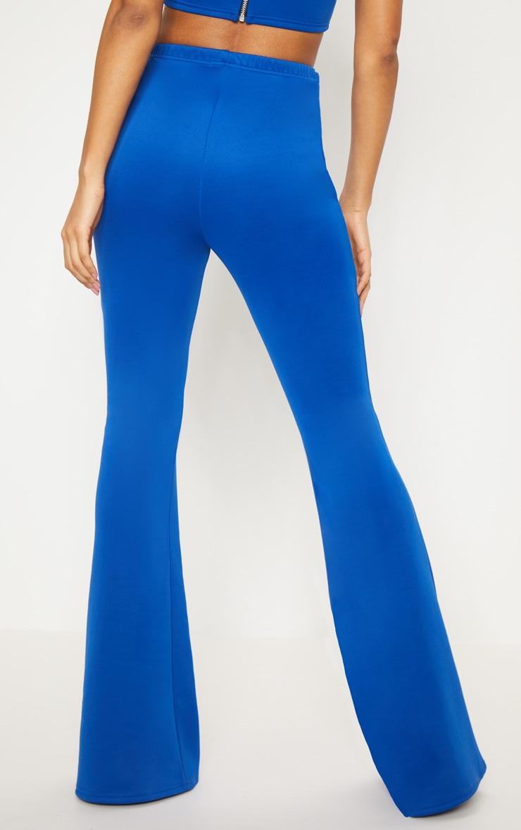 Cobalt High Waist Extreme Flare Long Leg Trouser  4