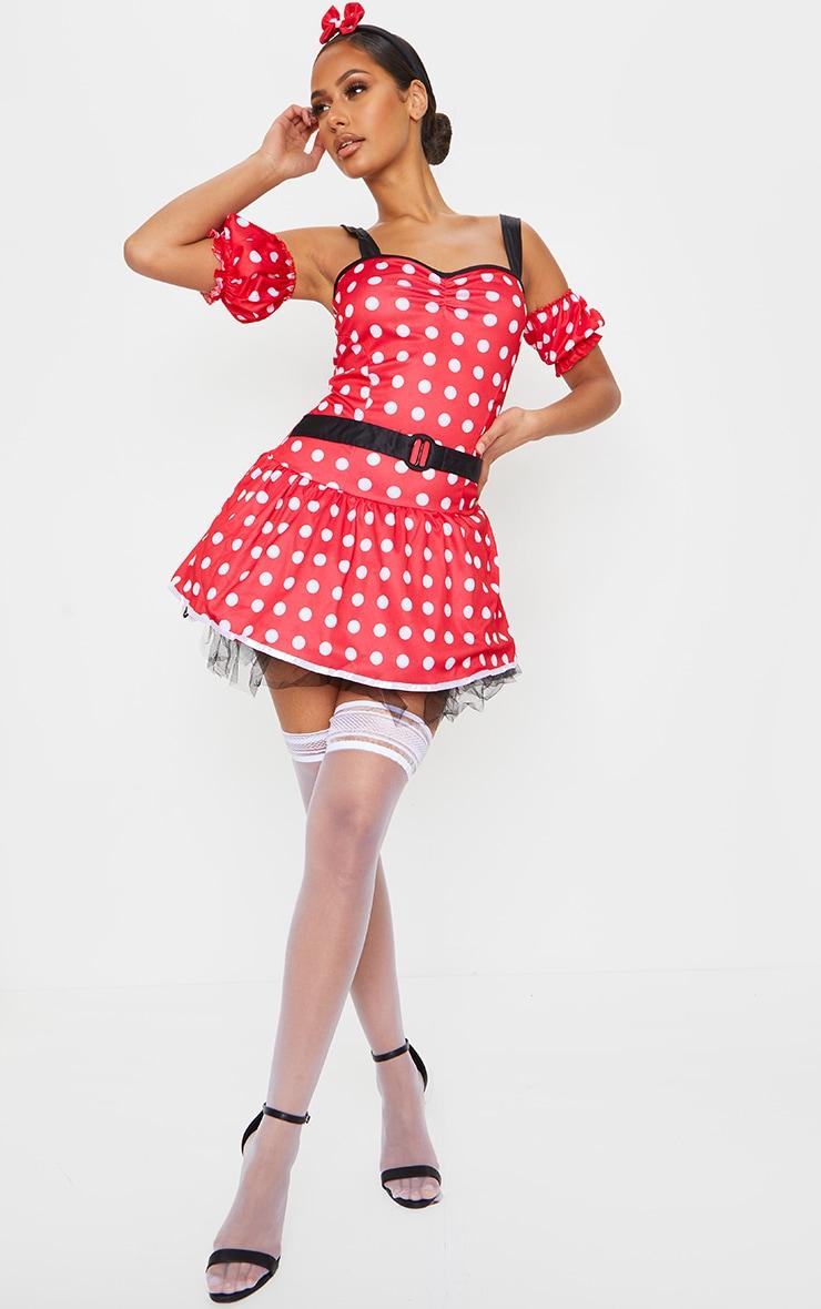 Premuim Sexy Miss Mouse Costume 3