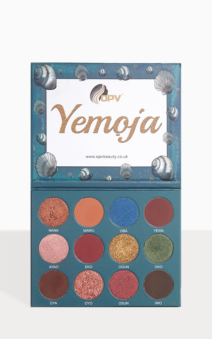 OPV beauty Yemoja Eyeshadow Palette 1
