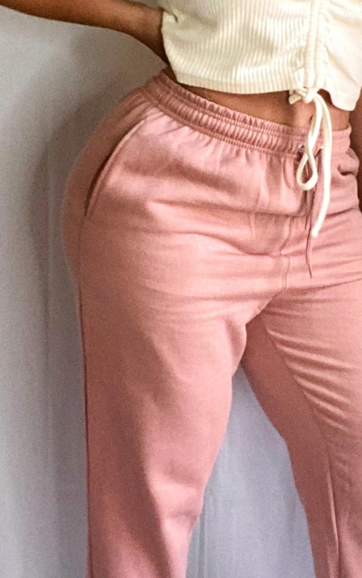 Plus Pink Toggle Waist Cuff Hem Jogger 4