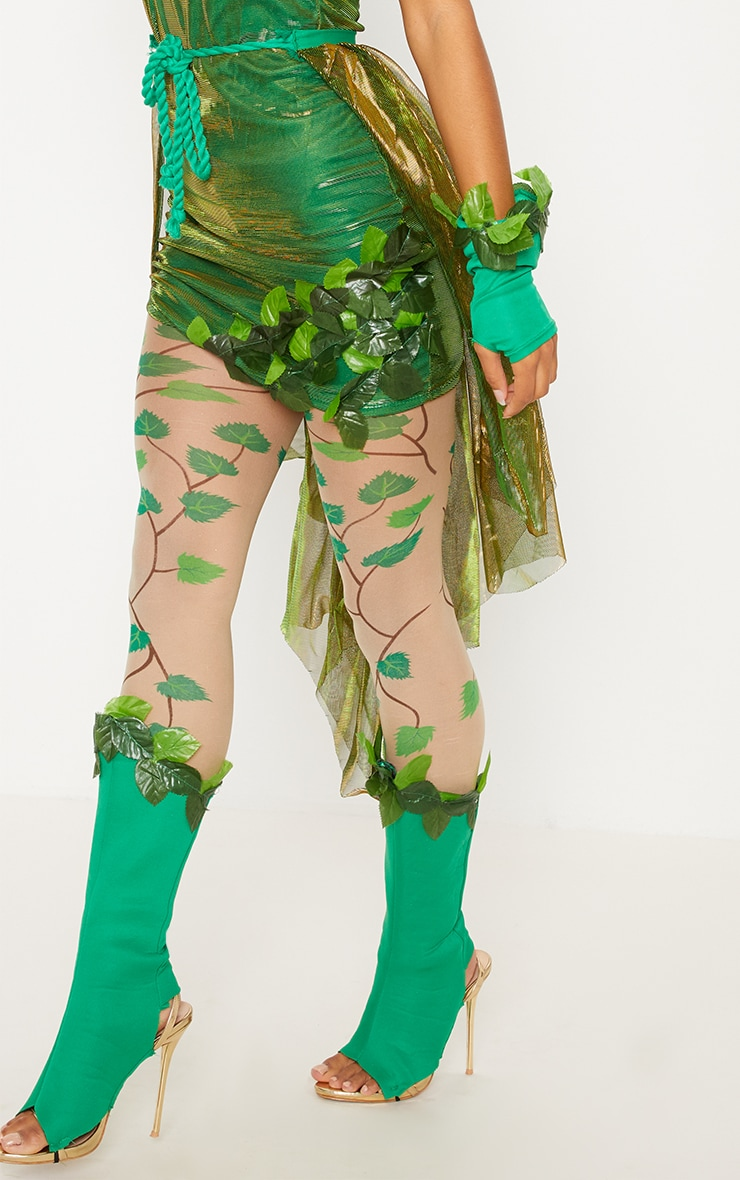 Green Poison Ivy Costume 5