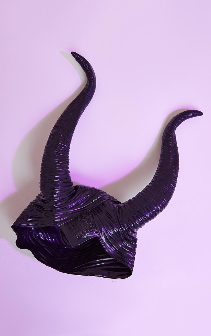Black Oversized Horns 3