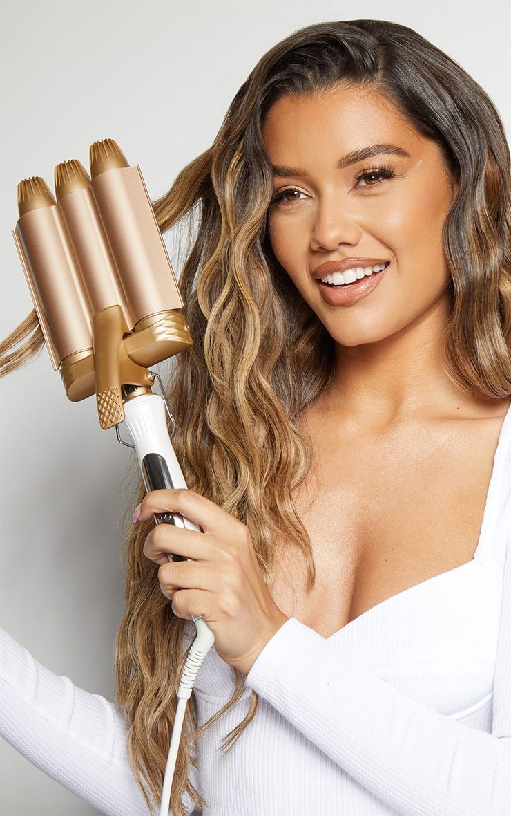 Beauty Works Jumbo Waver - Gold Edition 2