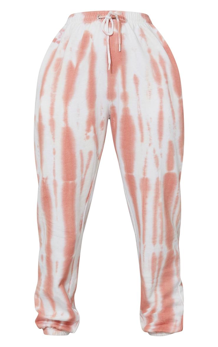 Peach Tie Dye Sweat Pant Joggers 5