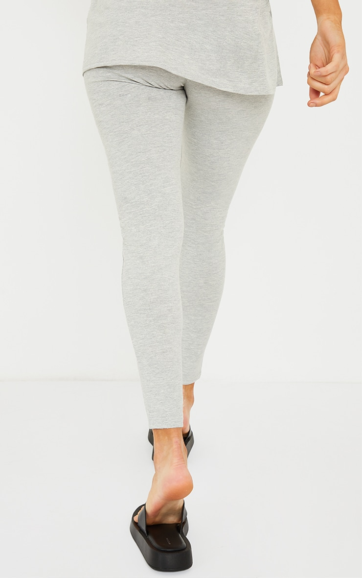 Maternity Grey Bump Support Leggings 3