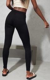 Tall Black Basic Jersey Leggings 3