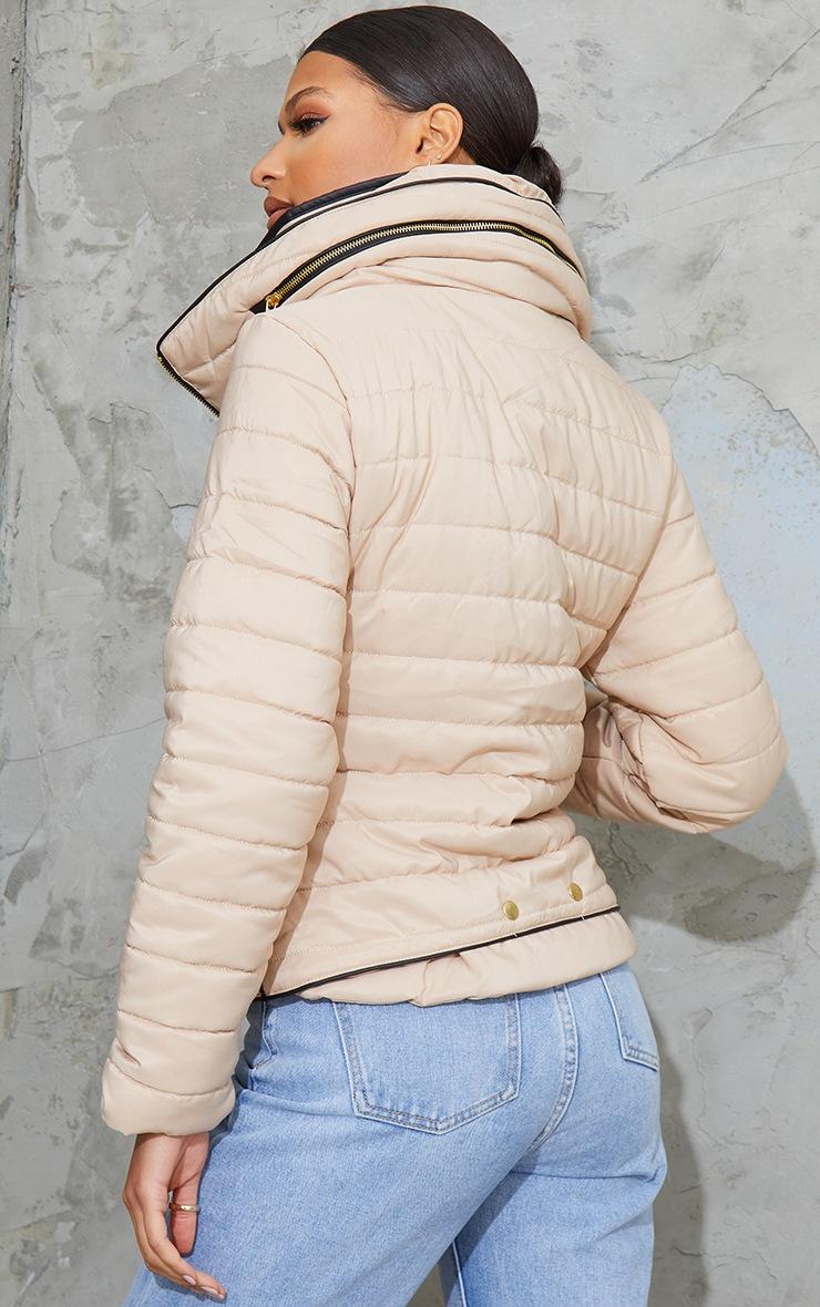 Mara Stone Puffer Jacket 2