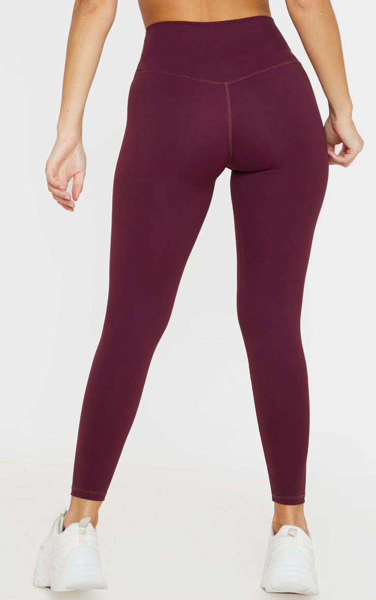 Berry Sculpt Luxe High Waist Gym Legging 4