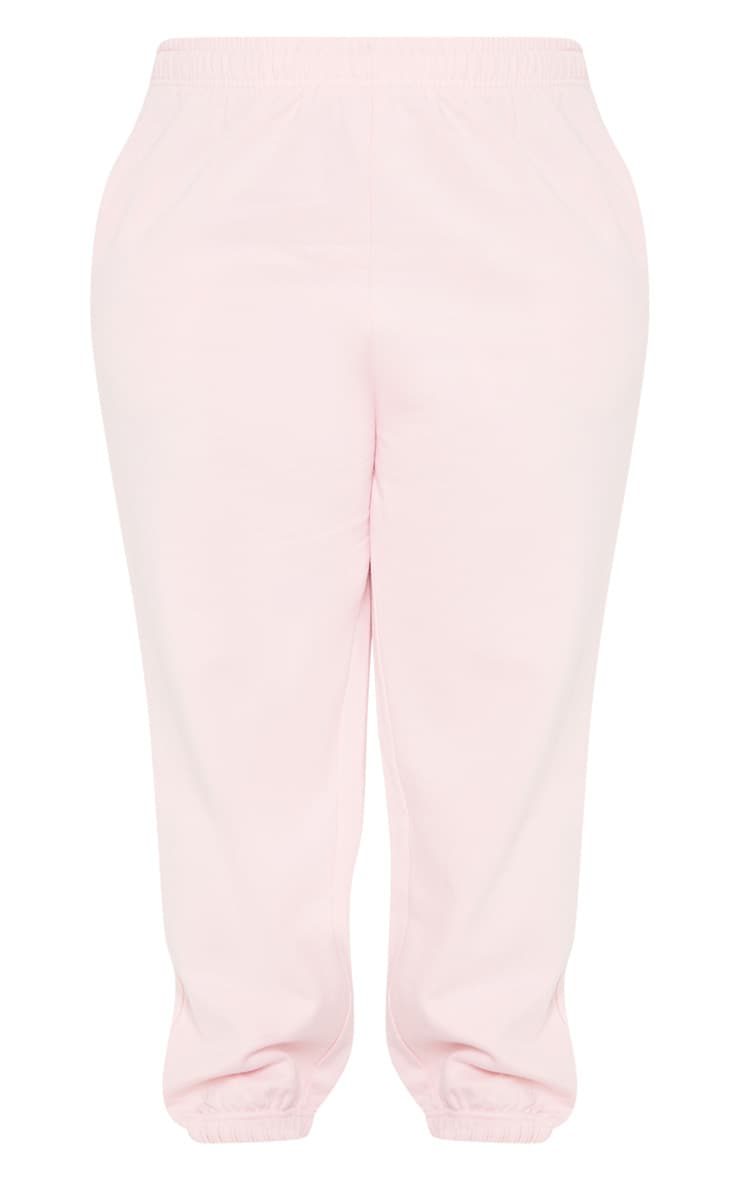 Plus Baby Pink Joggers 3