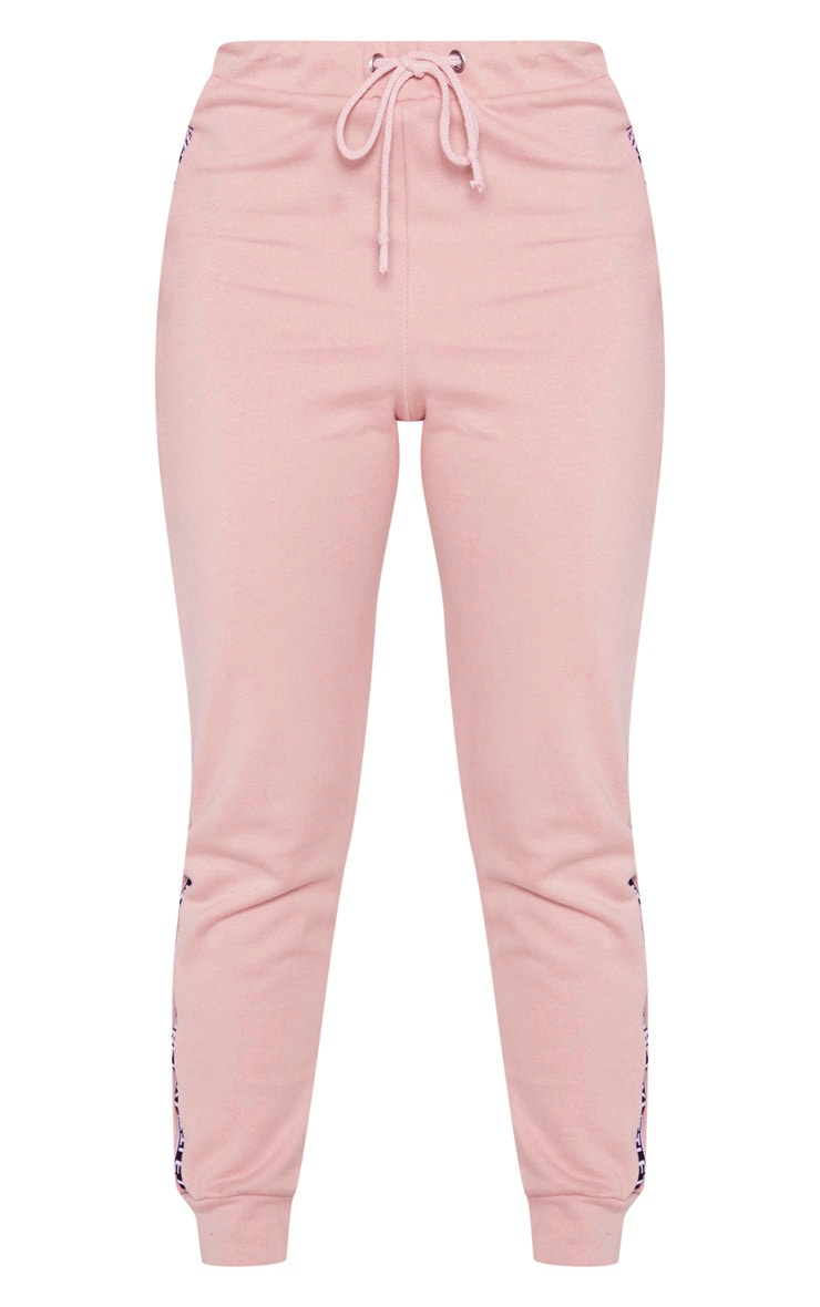 PRETTYLITTLETHING Petite - Jogging rose 3