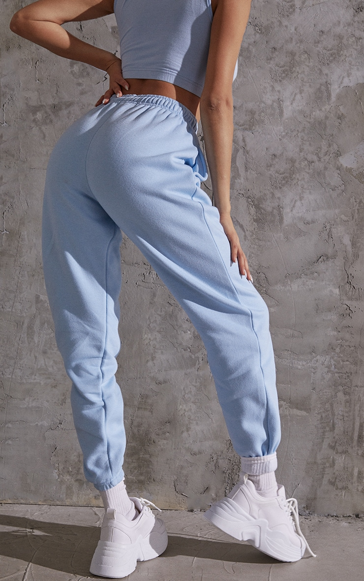 Light Blue Sweat Pant Joggers 3