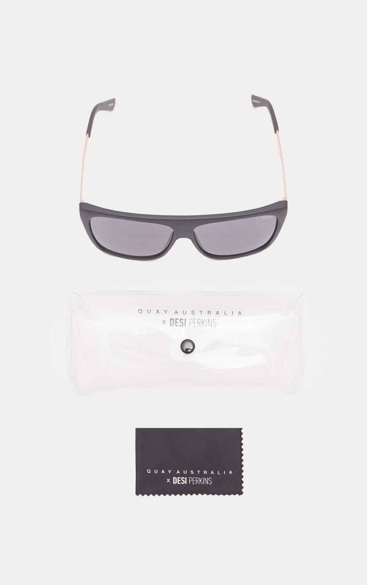 QUAY AUSTRALIA Black OTL II Oversized Sunglasses 4