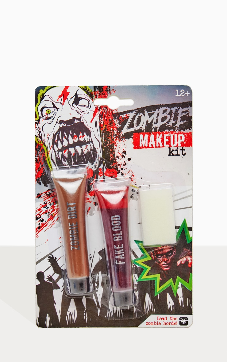 Maquillage d'Halloween kit zombie 1