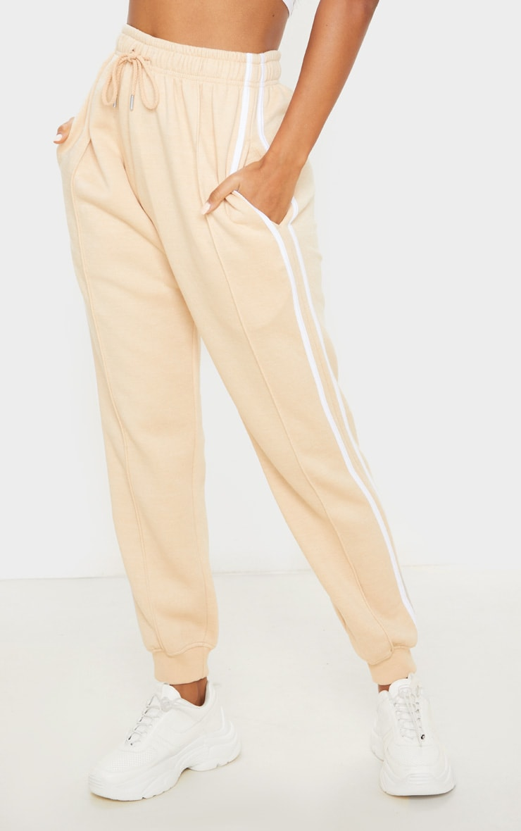 Fawn Double Side Stripe Jogger 2