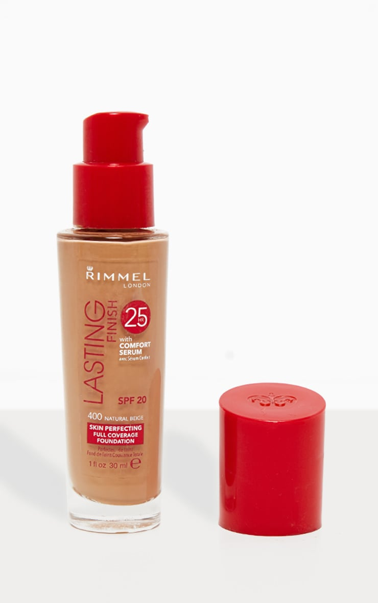 Rimmel Lasting Finish 25 Hour Foundation 400 Natural Beige 1