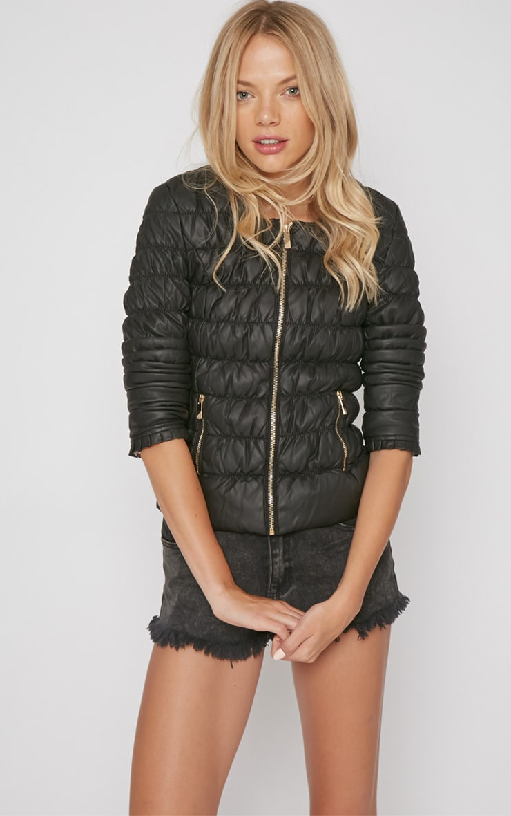 Natasha Black Padded Jacket 5