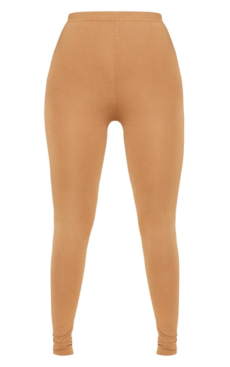 Basic Camel Jersey Legging  3