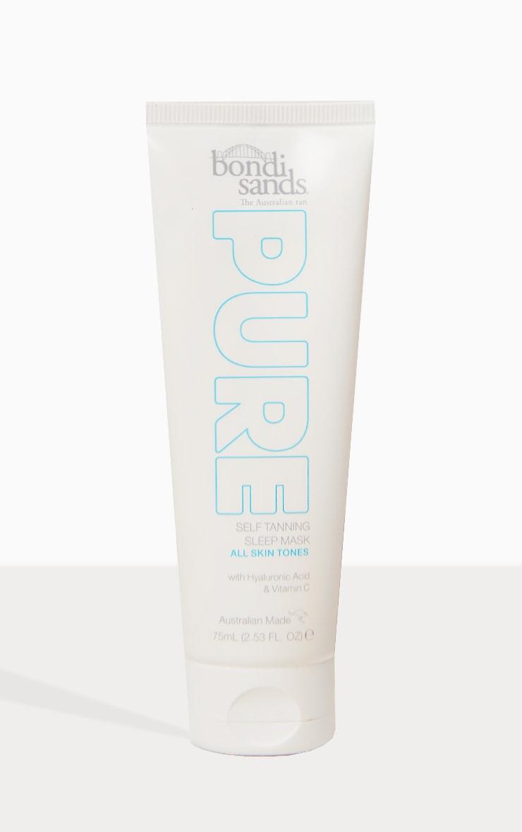 Bondi Sands Pure Self Tanning Sleep Mask 75ml 2