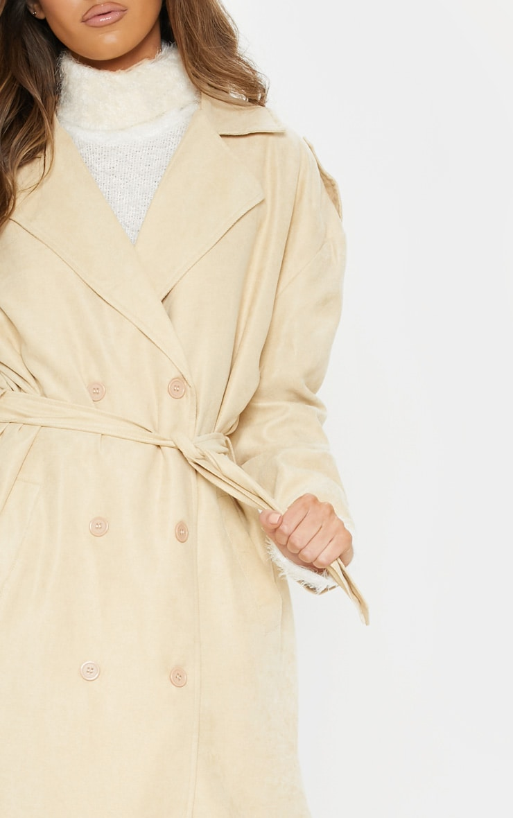 Stone Cord Belted Trench 5