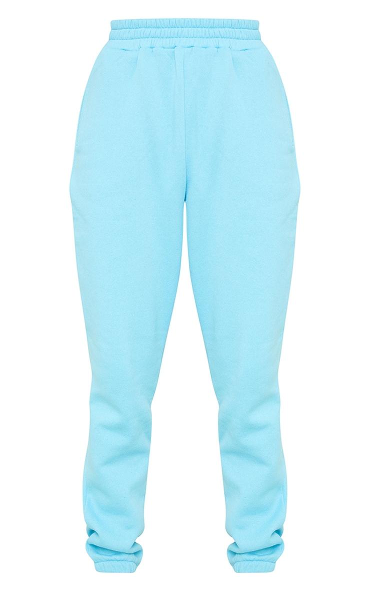 Bright Blue Pocket Detail Cuffed Joggers 5