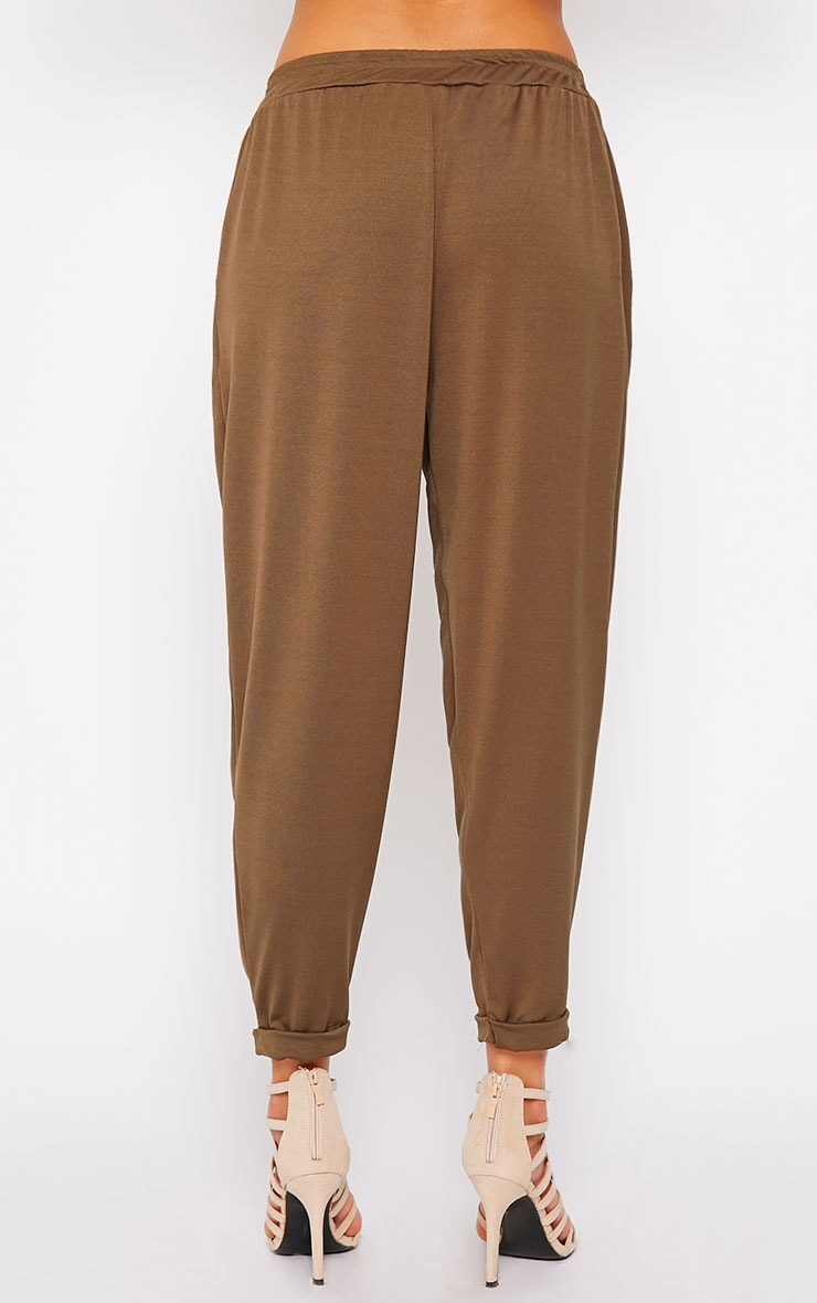 Connie Khaki Trousers 4