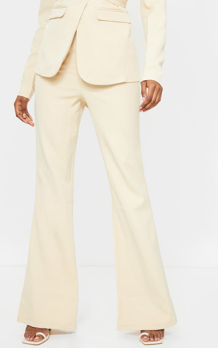 Tall Stone Fitted Flare Suit Pants 2