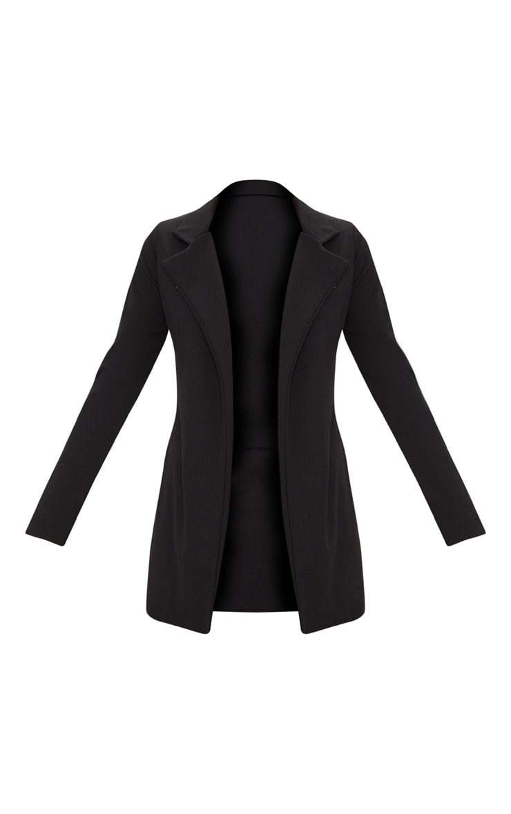 Blazer long noir 3