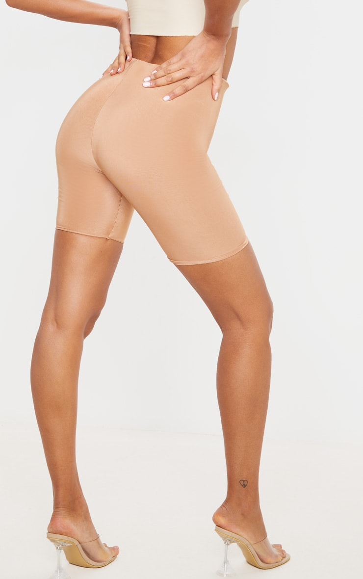 Bella Camel Slinky High Waisted Cycle Shorts 3