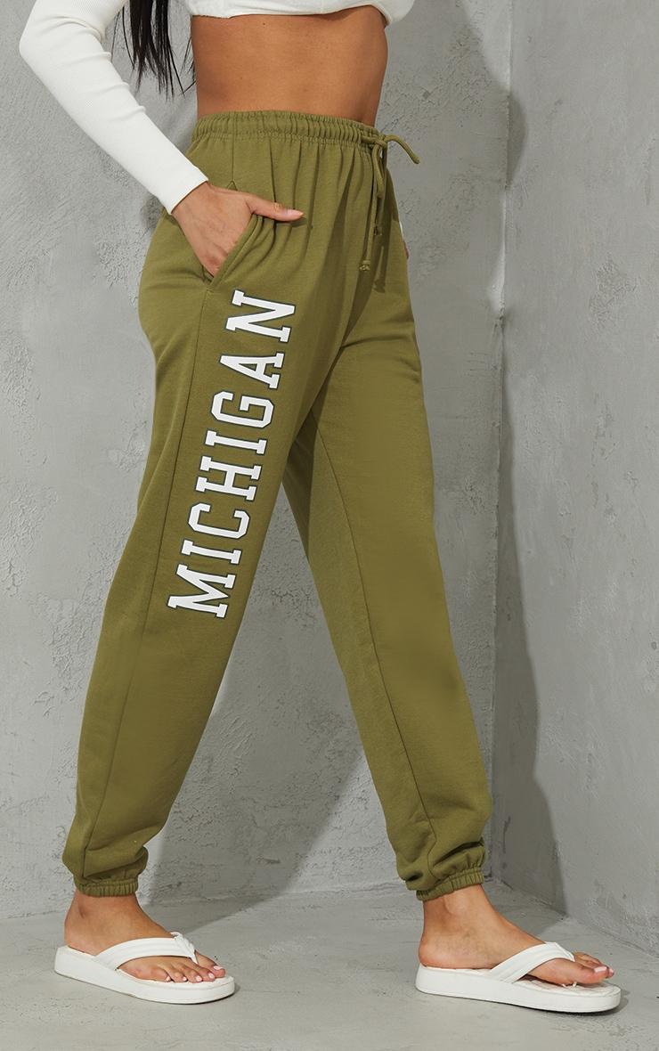 Pistachio Green Michigan Sweat Pant Joggers 2