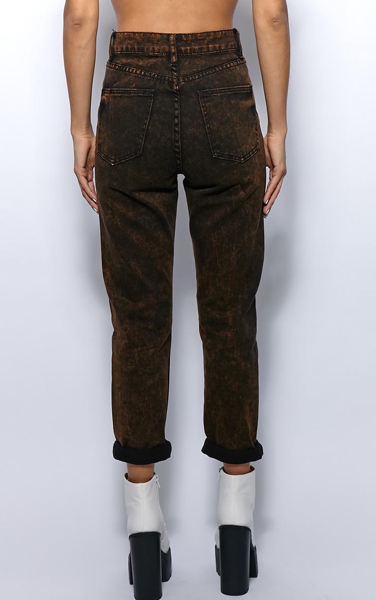 Courtney Mustard Diesel Wash Mom Jeans 2