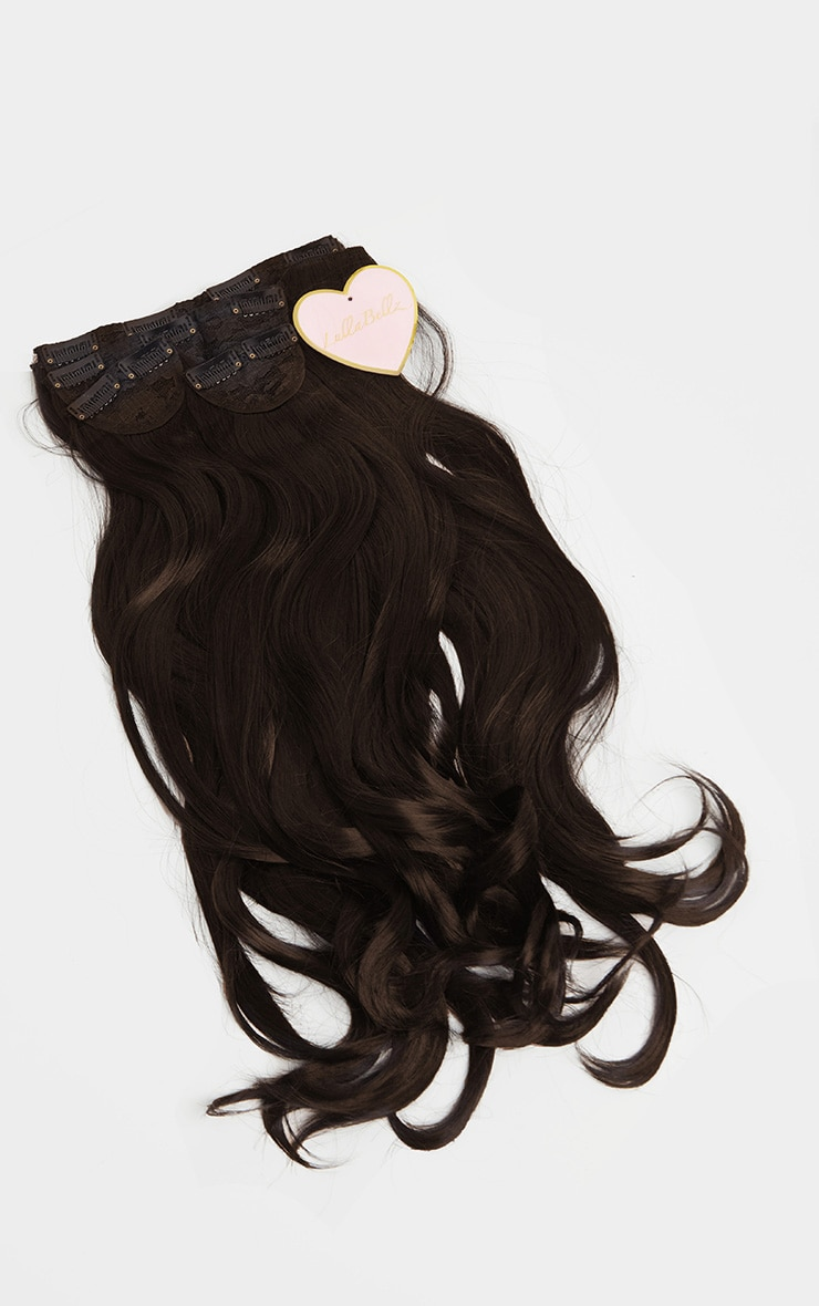 LullaBellz – Extensions à clipser en 5 parties 57 cm – Natural Black 5