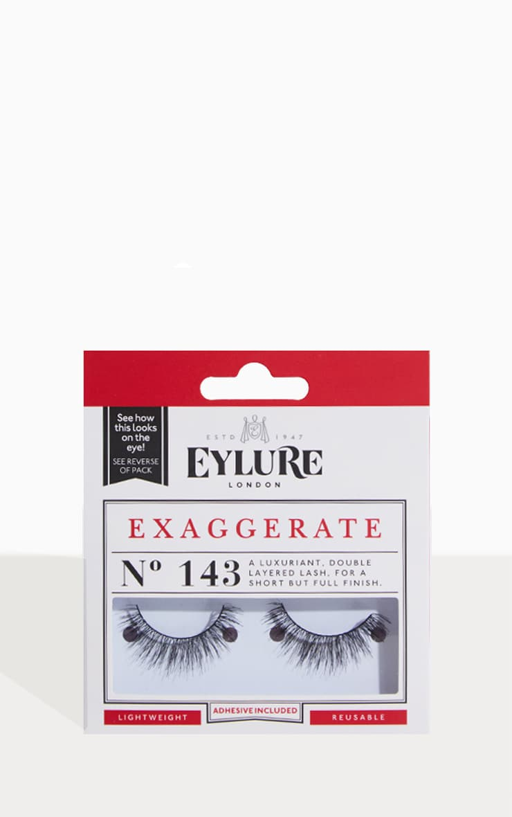 Eylure 143 Exaggerate Eyelashes 1