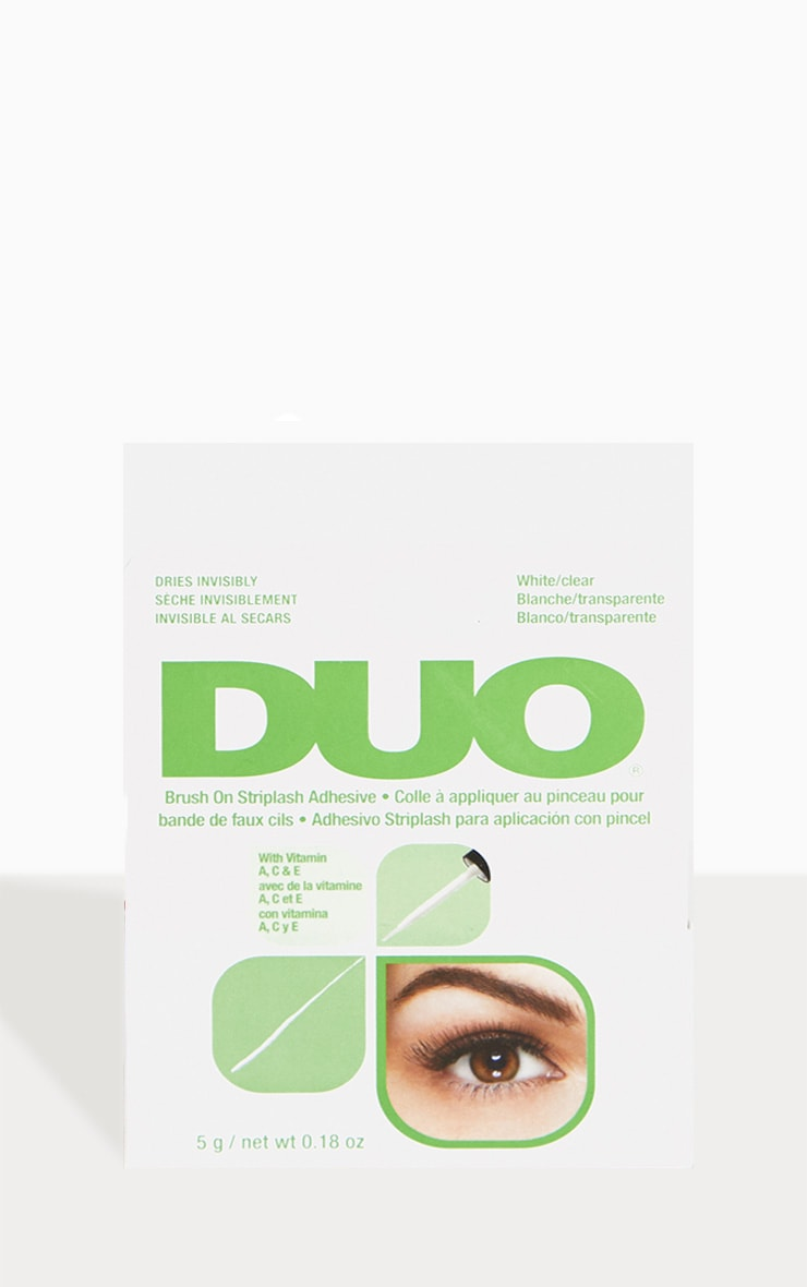 Duo Brush On Eyelash Glue - Clear 2