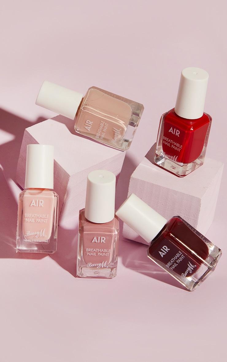 Barry M Cosmetics Air Breathable Nail Paint Peachy 4