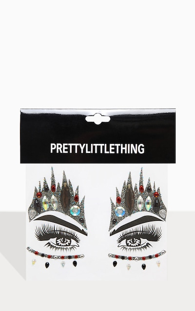 PRETTYLITTLETHING Queen of Hearts Face Stickers