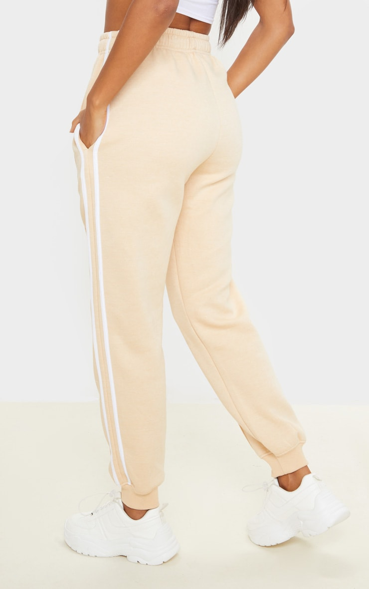 Fawn Double Side Stripe Jogger 4