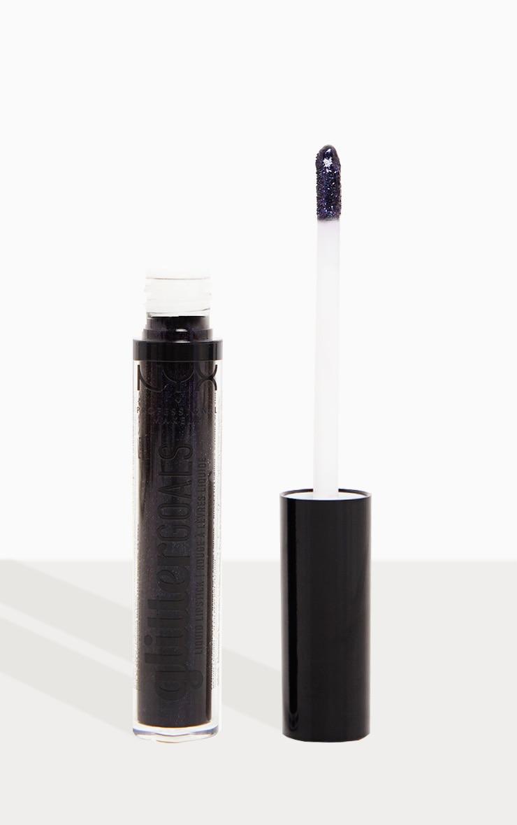 NYX Professional Makeup Glitter Goals Liquid Lipstick Oil Spill 4