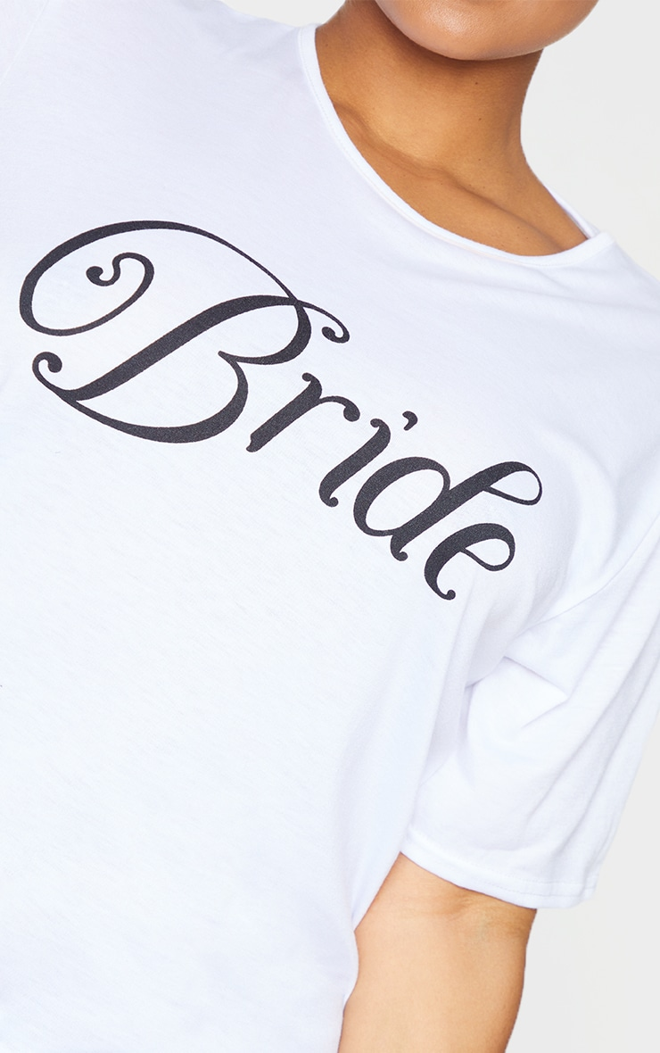 Plus Bride White Nightie 4