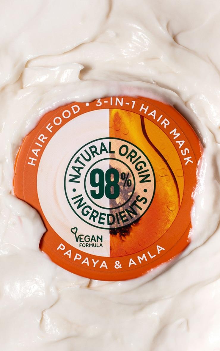 Garnier Ultimate Blends Hair Food Papaya 3-in-1 Damaged Hair Mask 4