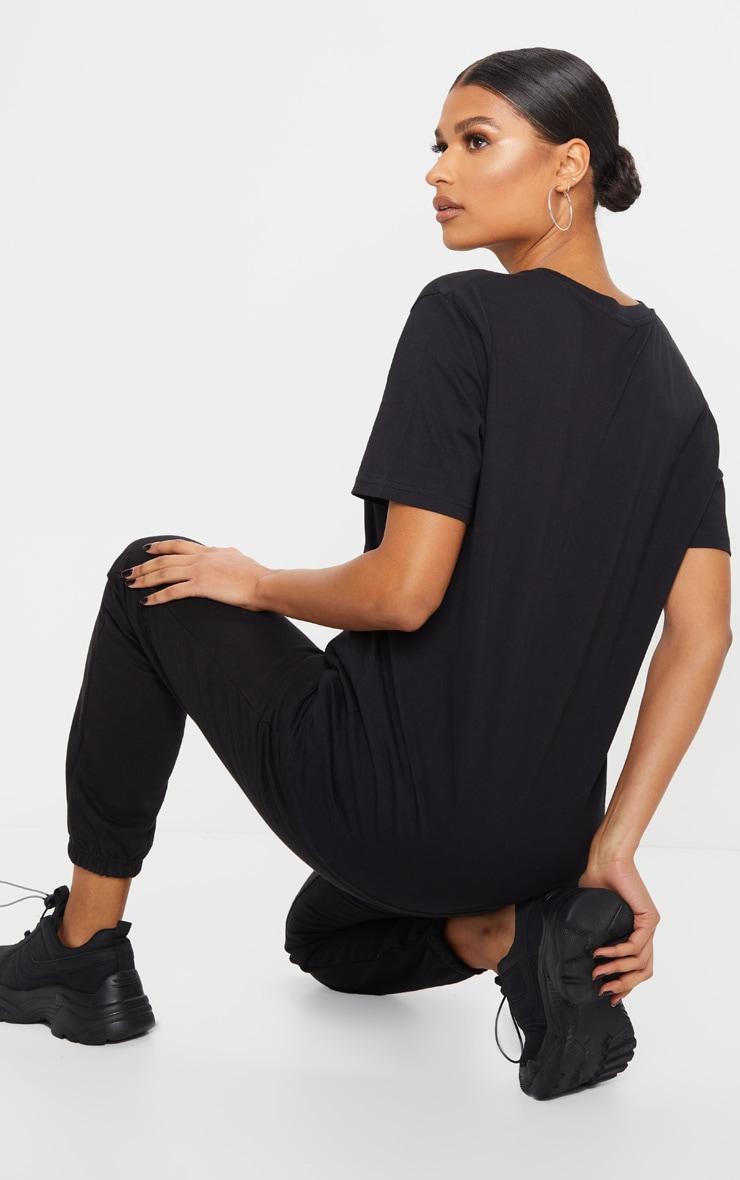 Black Organic T Shirt 2