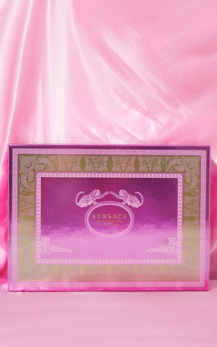 Versace Bright Crystal Absolu Eau de Parfum 4 Pieces Gift Set 2
