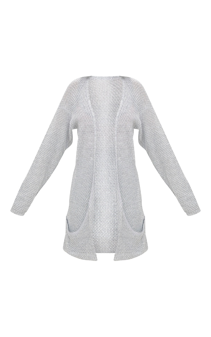 Grey Lightweight Cardigan 3