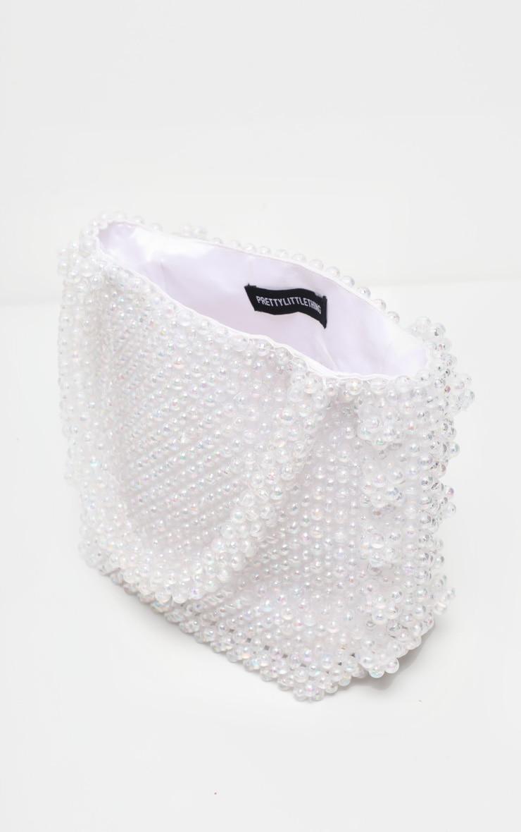 Iridescent Beaded Box Bag  2