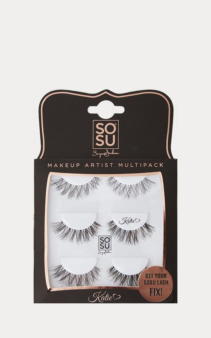 SOSU Katie Multipack False Eyelashes 1