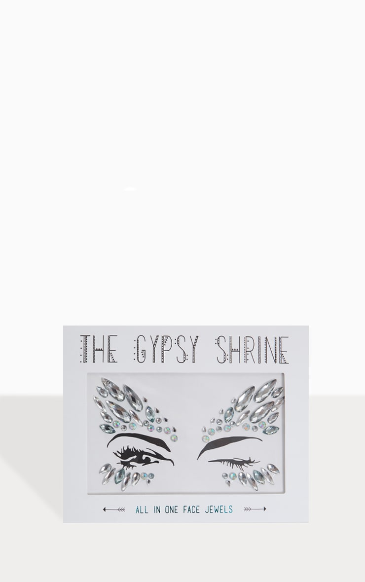 The Gypsy Shrine - Bijoux de visage Ice Queen 1