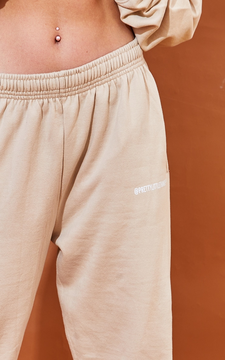 PRETTYLITTLETHING Sand Printed Joggers 4