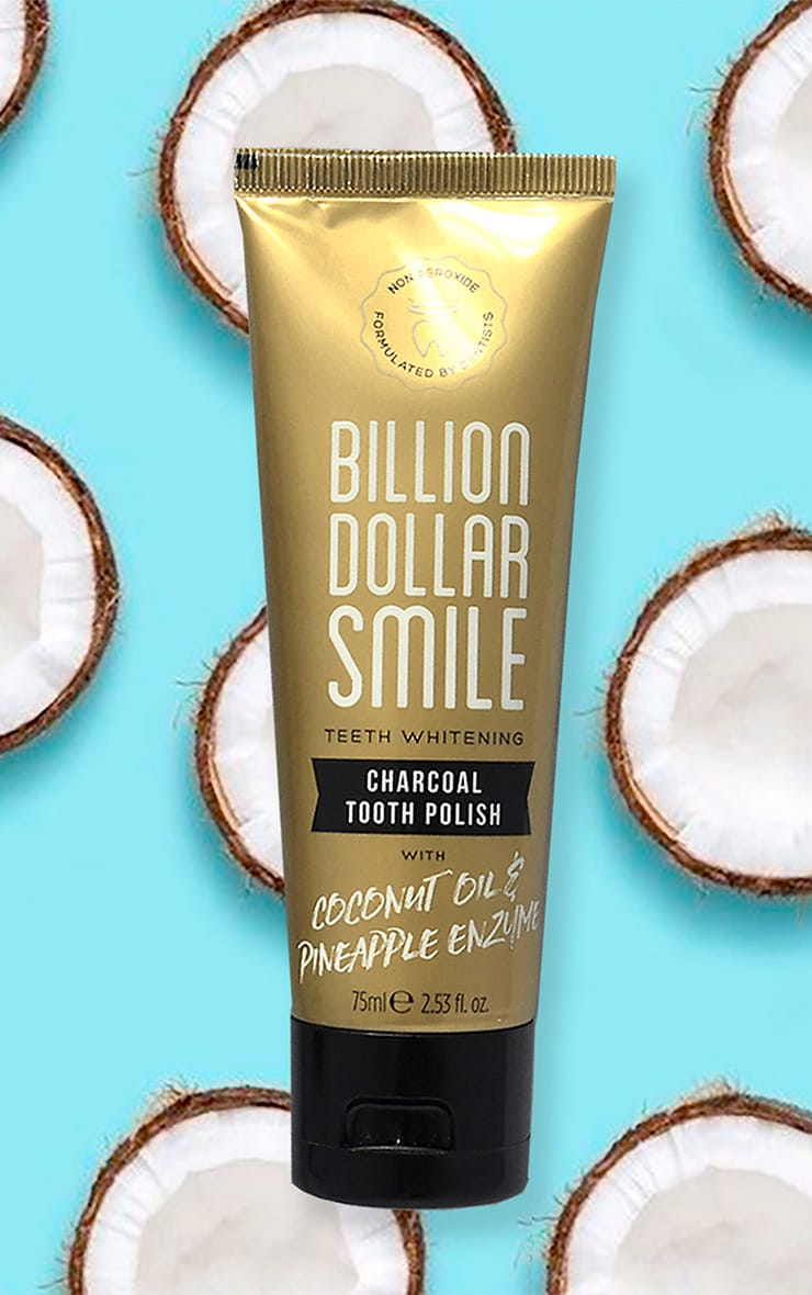 Billion Dollar Smile Charcoal Tooth Polish 1