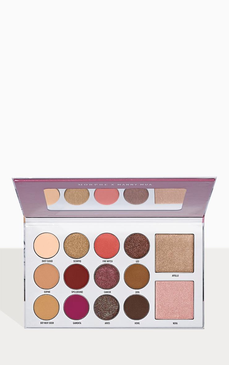 Morphe X Manny MUA Glam Eyeshadow Palette